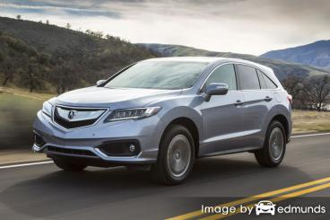 Insurance quote for Acura RDX in Madison