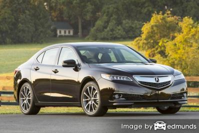 Insurance rates Acura TLX in Madison