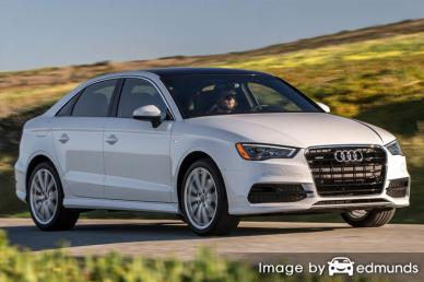 Insurance quote for Audi A3 in Madison