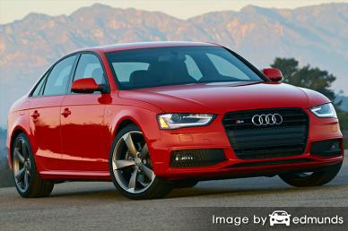 Insurance rates Audi S4 in Madison