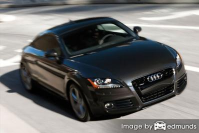 Insurance quote for Audi TT in Madison
