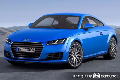 Insurance rates Audi TTS in Madison