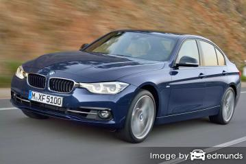 Insurance rates BMW 328i in Madison