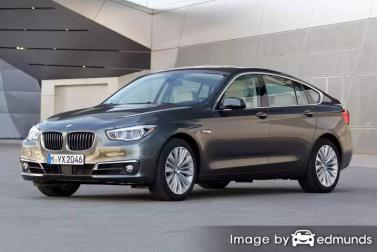 Insurance rates BMW 535i in Madison