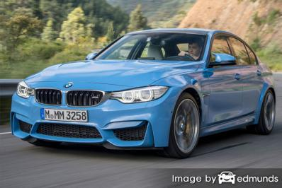 Insurance rates BMW M3 in Madison