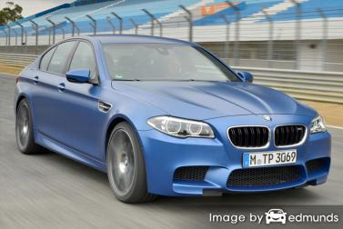 Insurance quote for BMW M5 in Madison