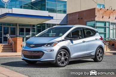 Insurance quote for Chevy Bolt in Madison