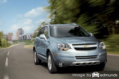 Insurance rates Chevy Captiva Sport in Madison