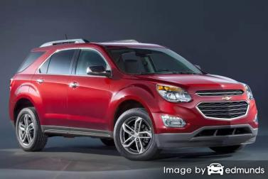 Insurance rates Chevy Equinox in Madison