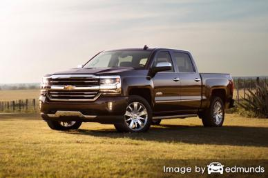 Insurance quote for Chevy Silverado in Madison