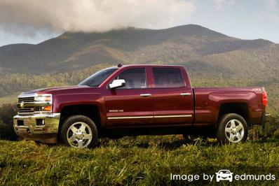 Insurance quote for Chevy Silverado 2500HD in Madison