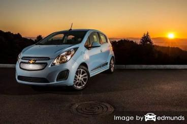 Insurance quote for Chevy Spark EV in Madison