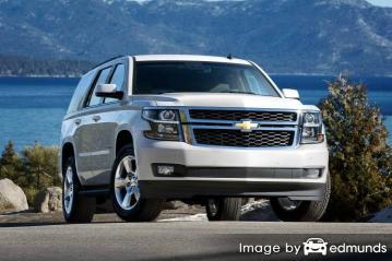 Insurance quote for Chevy Tahoe in Madison