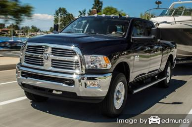 Insurance rates Dodge Ram 3500 in Madison