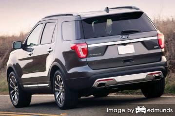 Insurance quote for Ford Explorer in Madison