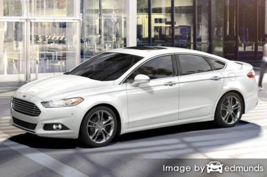 Insurance rates Ford Fusion in Madison
