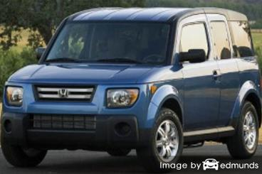 Insurance rates Honda Element in Madison