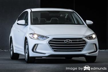 Insurance quote for Hyundai Elantra in Madison