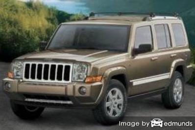 Insurance quote for Jeep Commander in Madison