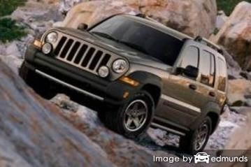 Insurance quote for Jeep Liberty in Madison