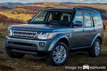 Discount Land Rover LR4 insurance