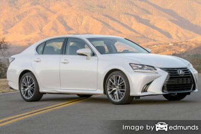 Insurance rates Lexus GS 350 in Madison