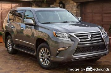 Insurance rates Lexus GX 460 in Madison