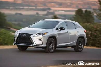 Insurance quote for Lexus RX 350 in Madison