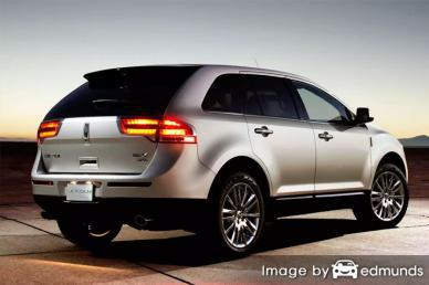 Insurance quote for Lincoln MKX in Madison