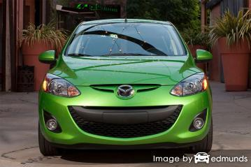Insurance rates Mazda 2 in Madison