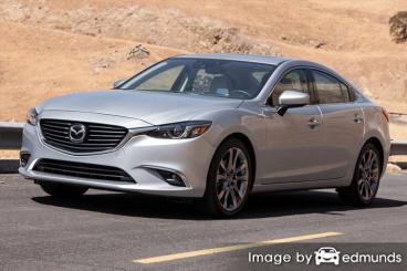 Insurance quote for Mazda 6 in Madison