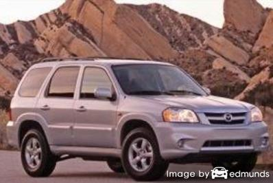 Insurance quote for Mazda Tribute in Madison