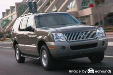 Insurance rates Mercury Mountaineer in Madison