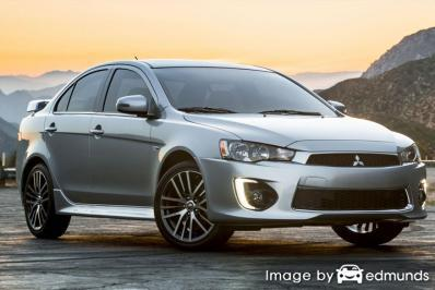 Insurance quote for Mitsubishi Lancer in Madison