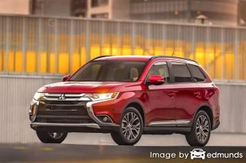 Insurance rates Mitsubishi Outlander in Madison