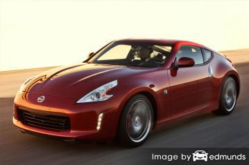 Insurance rates Nissan 370Z in Madison