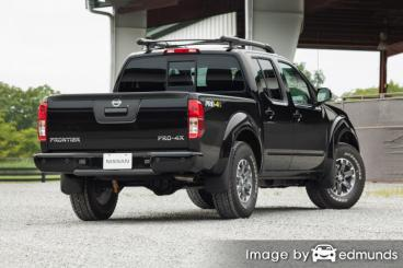 Insurance quote for Nissan Frontier in Madison