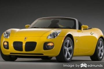 Insurance quote for Pontiac Solstice in Madison