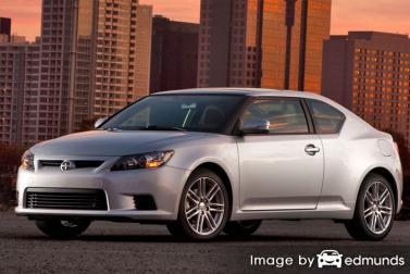 Insurance rates Scion tC in Madison