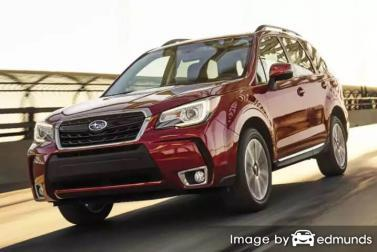 Discount Subaru Forester insurance