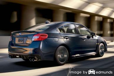 Insurance quote for Subaru WRX in Madison
