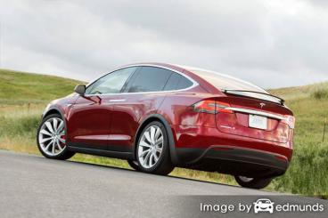 Insurance quote for Tesla Model X in Madison