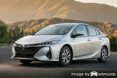 Insurance rates Toyota Prius Prime in Madison
