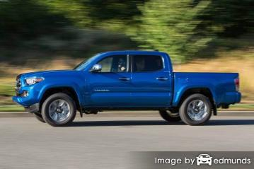 Insurance quote for Toyota Tacoma in Madison