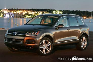Insurance quote for Volkswagen Touareg in Madison