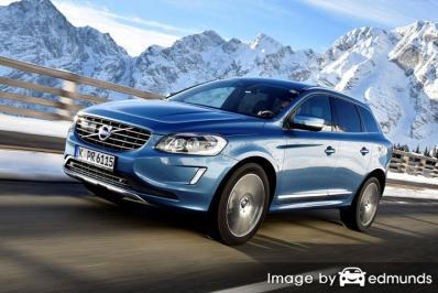 Insurance rates Volvo XC60 in Madison